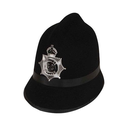 Traditional Police / Bobby Hat AC-9154 W