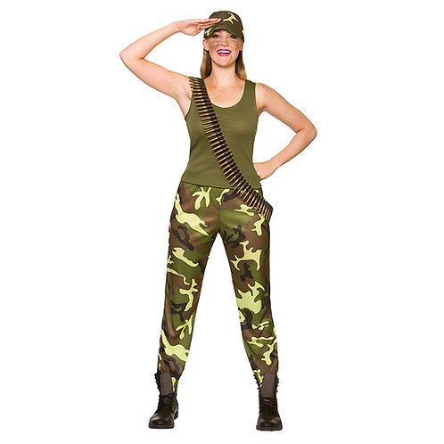 Army Girl EF-2246 Wicked