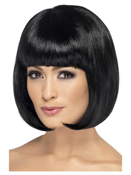 Partyrama Wig, 12 inch, Black. 42389 S