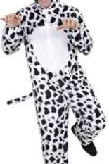 """""""FUNNY DALMATIAN"""" (hooded jumpsuit with ma.. 9907C W"""