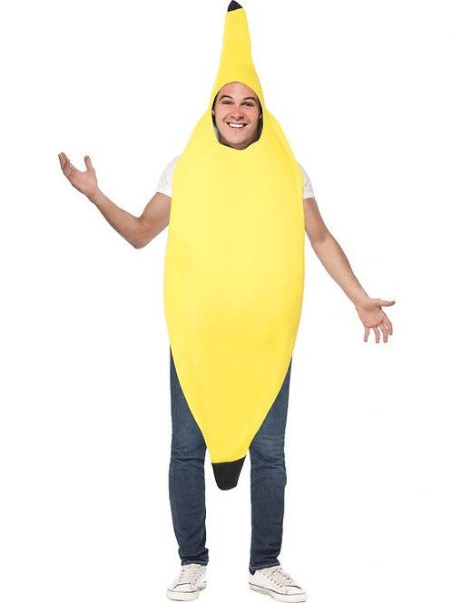 Banana Costume SKU 30468 Banana Costume, Yellow, Jumpsuit