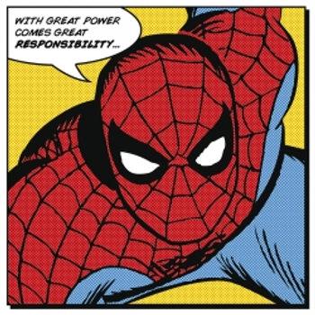 Canvasmaleri - Spiderman