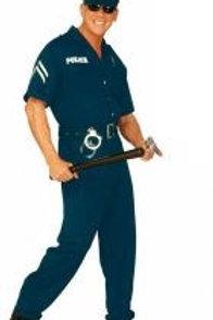 """""""POLICE OFFICER"""" (jumpsuit, belt, hat). 44251 W"""