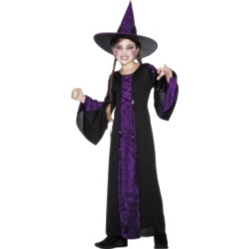 Bewitched Costume, Black and Purple SKU: 25073