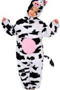 "FUNNY COW"" (hooded jumpsuit with mask) 9759J W"