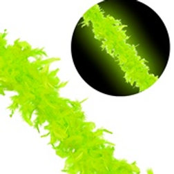 """NEON GREEN FEATHER BOA"" 1,80 m - 50 g 00648 W"