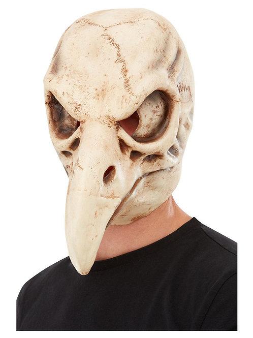 Bird Skull Latex Mask. 50819 Smiffys