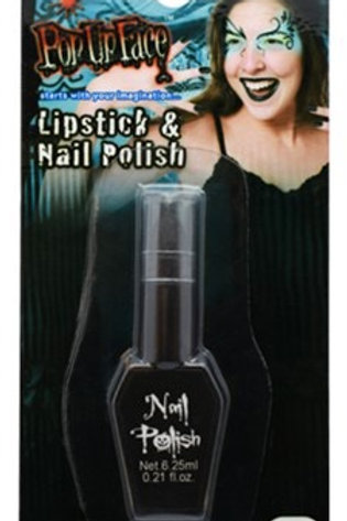 BLACK LIPSTICK & NAIL POLISH. 95929 JOKER