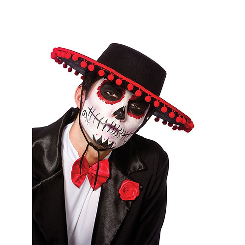 Day of the Dead Senor Hat AC-9236 W