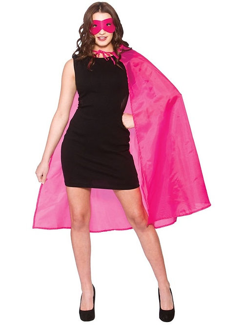 Adult Super Hero Cape & Mask. AC-9401 Wicked