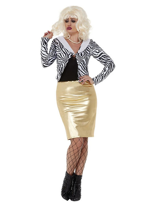 Lady Fabulous Costume. 70042 Smiffys