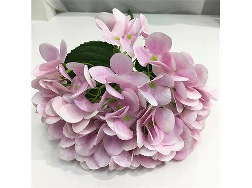 Blomst Hortensia Rosa 48Cm