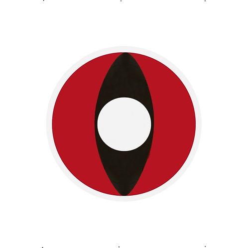 Cat Eye ,Red SKU: 23648