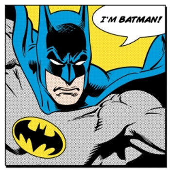 Canvasmaleri - Batman