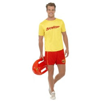 Baywatch Men's Beach Costume 32868 S
