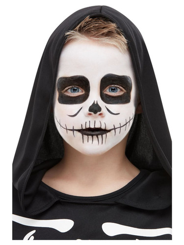 4796650e Smiffys Make-Up FX, Kids Skeleton Kit, Aqua. 50908 S