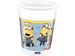 Cups Minions 200ml/8 F 87177P