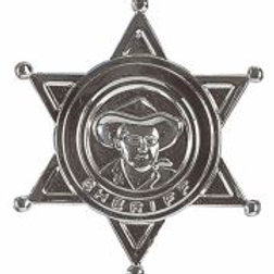 """SHERIFF STAR"" metal W 3301H"