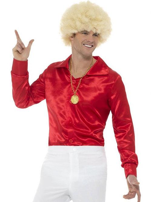 60s Shirt, Red SKU 48195