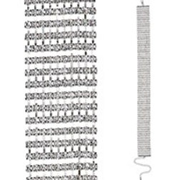 """DELUXE STRASS CHOKER"". 2965S W"