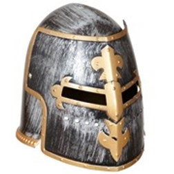 MEDIEVAL WARRIOR HELMET WITH VISOR. 01125 W