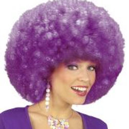 """EXTRA CURLY JIMMY WIG"""" purple - in box 06830 W"""