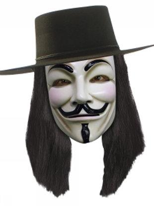 V for Vendetta, PVC-maske
