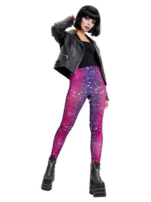 Galactic Print Leggings. 50848 Smiffys