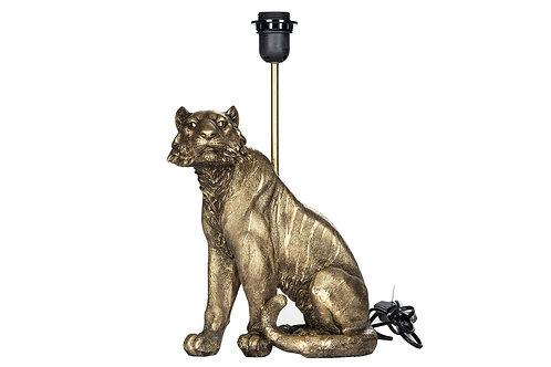 Lampe Tiger Mörkguld 23x28/41cm 102002