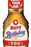 FOIL BALLOON HAPPY BIRTHDAY BEER SHAPE 91 CM. 64928 JOKER