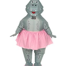 """HIPPO BALLERINA"" (airblown inflatable ove...W 75513"