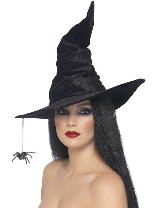 Witch Hat, Black. 24146 Smiffys