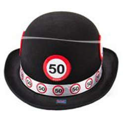 Bowler Hat Non Woven Traffic Sign 50 F 62350