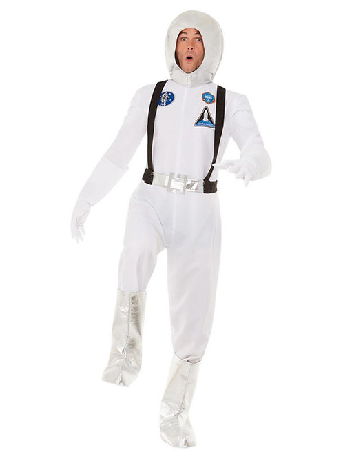 Out Of Space Costume, White. 70017 Smiffys