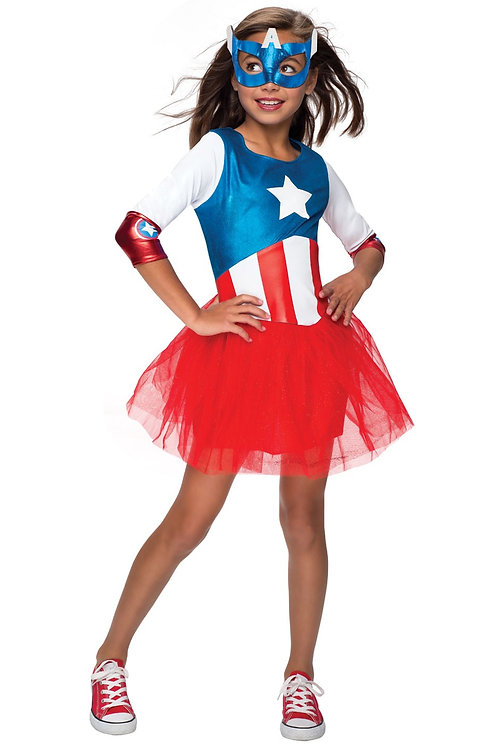 AMERICAN DREAM METALLIC DRESS – CHILDRENS. 620035 RUBIES