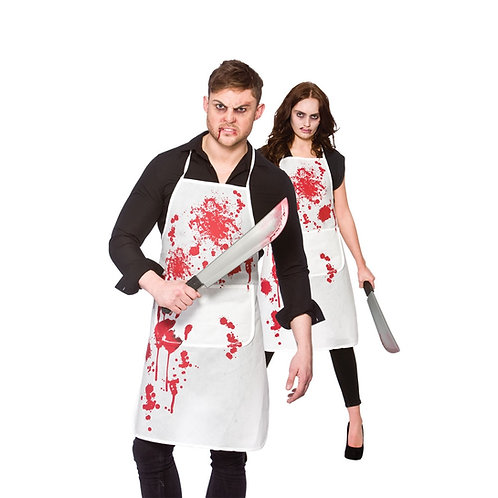 Blood Covered Apron AC-9041 W
