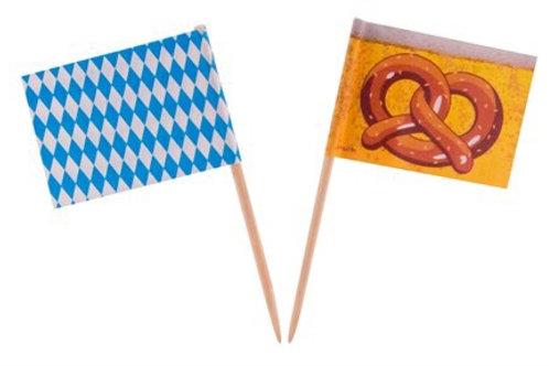 OKTOBERFEST COCKTAIL FLAGS 50-PK. 95858 JOKER