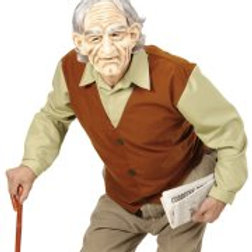 """OLD MAN"""" (shirt with vest, mask with wig  74565 W"""
