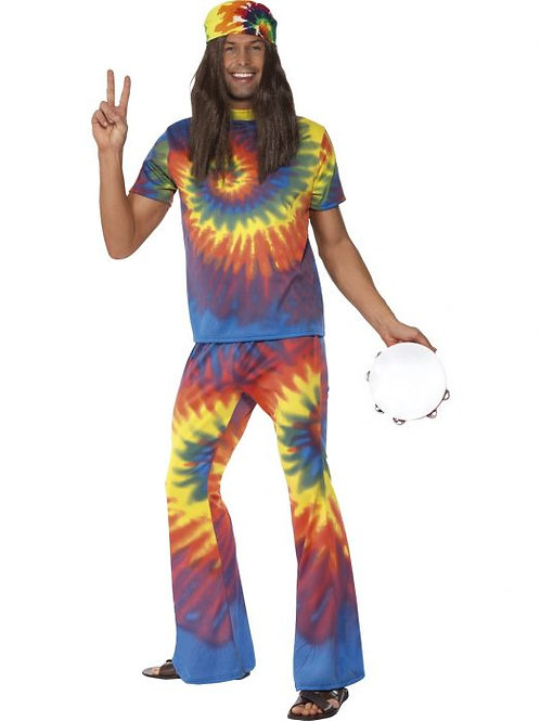 1960s Tie Dye Top and Flared Trousers SKU 35431