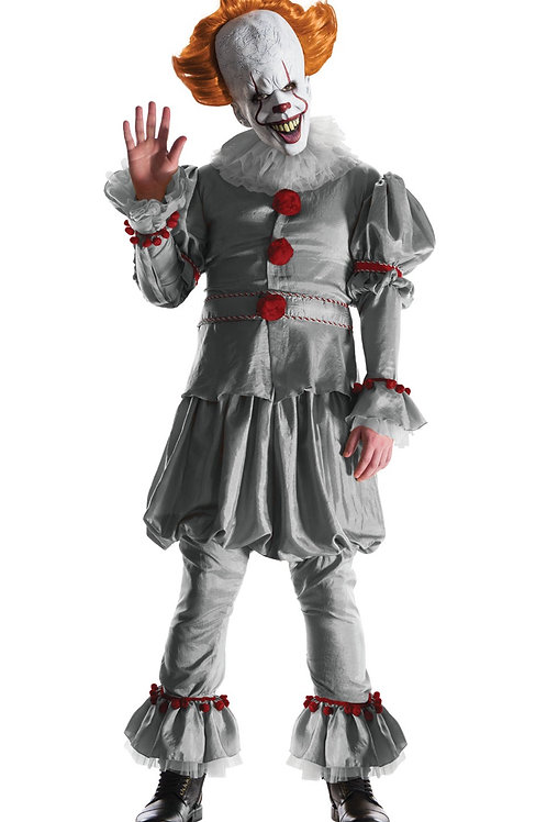PENNYWISE COLLECTOR'S EDITION COSTUME – MENS. 820947 RUBIES