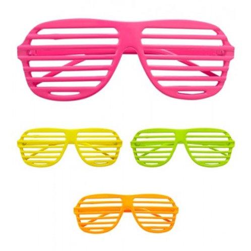 Neon Shutter Glasses Pink. 01355 W