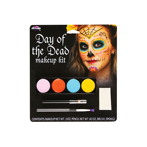 Day of The Dead Makeup - Sugar Skull FW-5618FS W