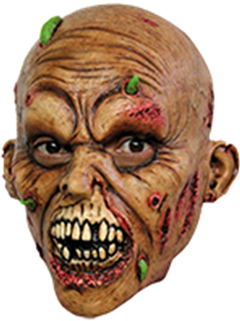 Zombie, Lateks maske