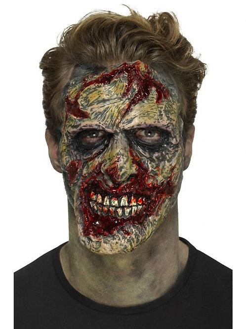 Foam Latex Zombie Face Prosthetic. 46777 S