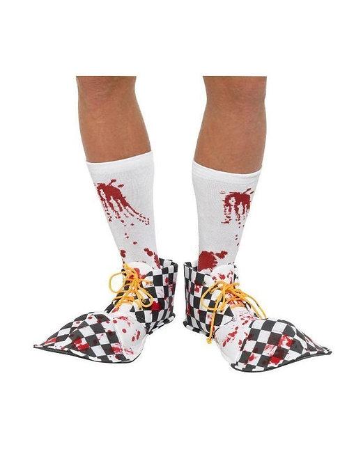 Bloody Clown Shoe Covers. 44779 Smiffys
