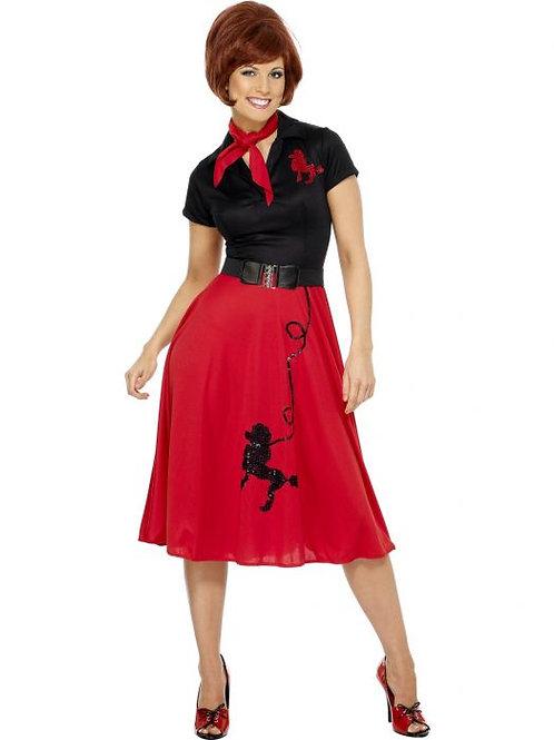50s Style Poodle Costume SKU 30814