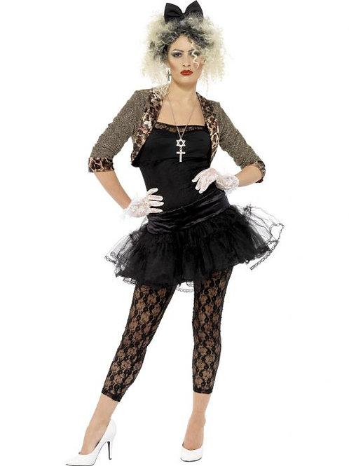 80s Wild Child Costume, Black SKU 36233