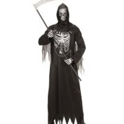 """GRIM REAPER"""" (robe with chain, hooded mas... 08671"""