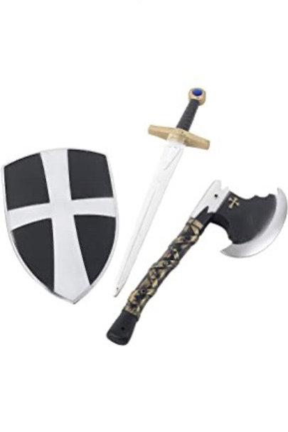 3 Piece Crusader Set. 31350 Smiffys