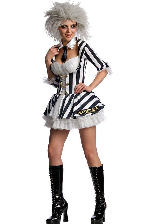 BEETLEJUICE SECRET WISHES COSTUME – WOMENS. 880617 RUBIES